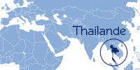 where is thailand world map